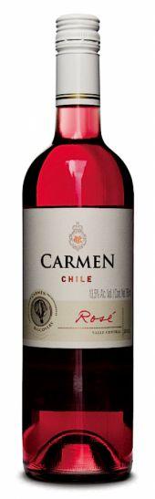 Vinho Rosé Chileno Carmen Classic Syrah Cabernet Sauvignon Rosé 750 ml