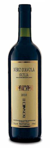 Vinho Tinto Italiano Bonacchi Nero D'Avola IGT 750 ml