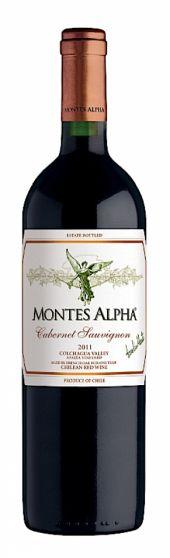 Vinho Tinto Chileno Montes Alpha Cabernet Sauvignon 750 ml