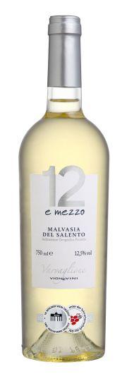 Vinho Branco 12 e Mezzo Malvasia del Salento IGP 750 ml