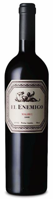 Vinho Tinto Argentino El Enemigo Malbec 750 ml