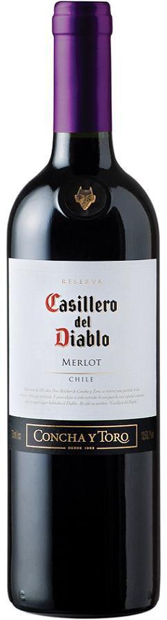 Vinho Tinto Casillero Del Diablo Merlot 750 ml