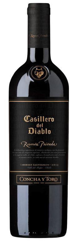 Vinho Tinto Chileno Casillero Del Diablo Reserva Privada 750 ml