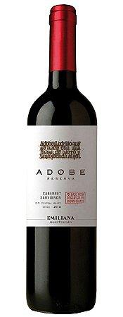 Vinho Tinto Chileno Emiliana Adobe Reserva Carbernet Sauvignon 750 ml