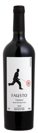 Vinho Tinto Pizzato Fausto Tannat 750 ml
