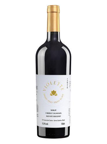 Vinho Tinto Pizatto Violette Suave 750 ml
