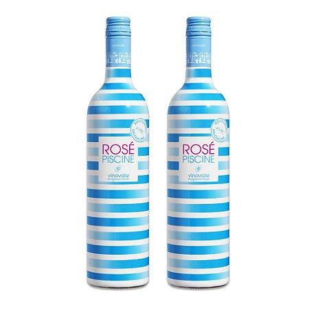 Rosé Piscine Stripes Edição Limitada - 2 garrafas