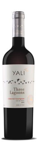 Vinho Tinto Yali Three Lagoons Cabernet Sauvignon 750 ml