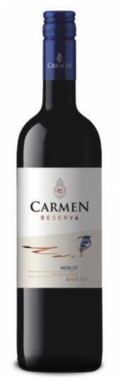 Vinho Tinto Chileno Carmen Reserva Merlot 750 ml