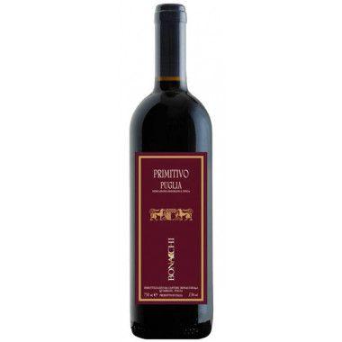 Vinho Tinto Italiano Bonacchi Primitivo Di Puglia IGT 750 ml