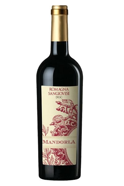Vinho Tinto Italiano Mandorla Sangiovese Romagna DOC 750 ml