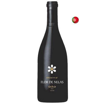 Vinho Tinto Português Flor de Nelas Reserva DOC Dão 750 ml