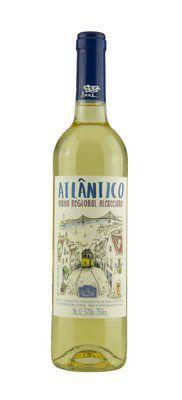 Vinho Branco Alentejano Atlântico 750 ml
