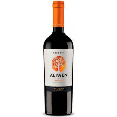 Vinho Tinto Chileno Undurraga Aliwen Carmenere Reserva 750 ml