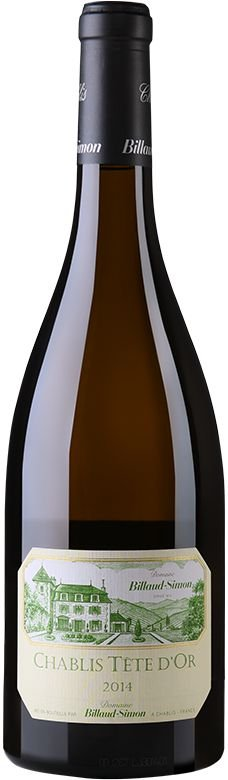 Vinho Branco Francês Domaine Billaud-Simon Chablis Tête d'Or 750 ml