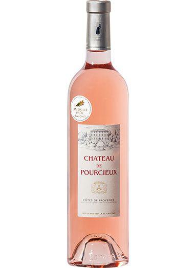 Vinho Francês Chateau De Pourcieux Rosé 750 ml
