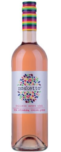 Vinho Suave Italiano Mosketto Rosé 750 ml