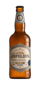 Cerveja Leopoldina Bohemian Pilsner 500 ml