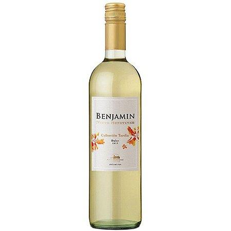 6bf87772e Vinho Suave Argentino Nieto Senetiner Benjamin Branco 750 ml - Vinhoteca