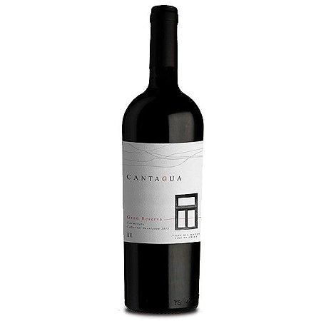 Vinho Tinto Chileno Cantagua Gran Reserva Carmenere-Cabernet Sauvignon 750 ml