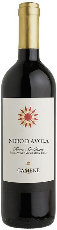Vinho Tinto Italiano Nero d'Avola Camene IGT sicilia 750 ml