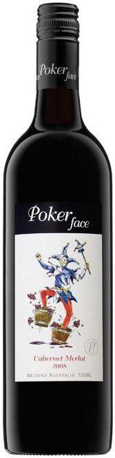 Vinho Tinto Australiano Poker Face Cabernet Merlot 750 ml