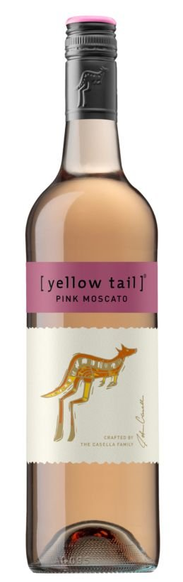 Vinho Rosé Autraliano Yellow Tail Pink Moscato 750 ml