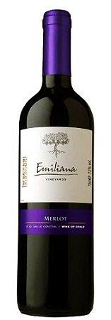 Vinho Tinto Chileno Emiliana Merlot 750 ml