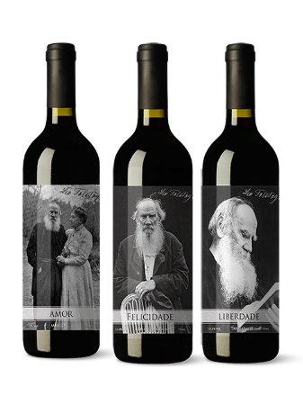 Kit Vinhos Enos Tolstoy Reserva Edição Limitada 750 ml