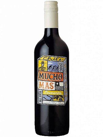 Vinho Tinto Chileno Mucho Mas Carmenere 750 ml