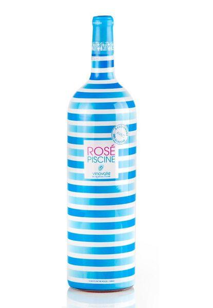 Vinho Rosé Piscine Stripes Edição Limitada Magnum 1,5 L