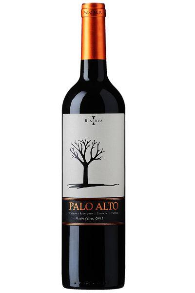 Vinho Tinto Chileno Palo Alto Cabernet-Carmenere-Shiraz Reserva 750 ml