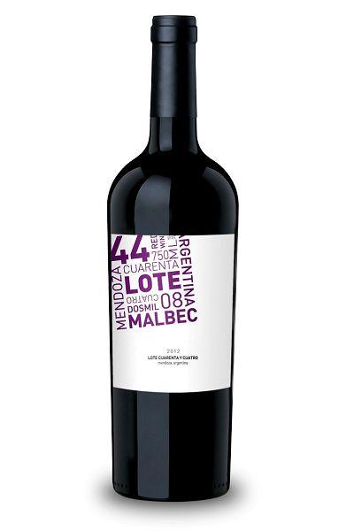Vinho Tinto Argentino Lote Cuarenta y Cuatro Malbec 750 ml