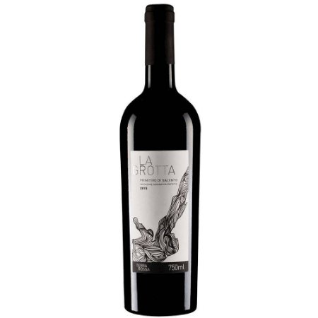 Vinho Tinto Italiano La Grotta Primitivo di Salento IGP 750 ml