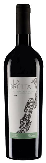 Vinho Tinto Italiano La Grotta Negroamoro Di Salento IGP 750 ml