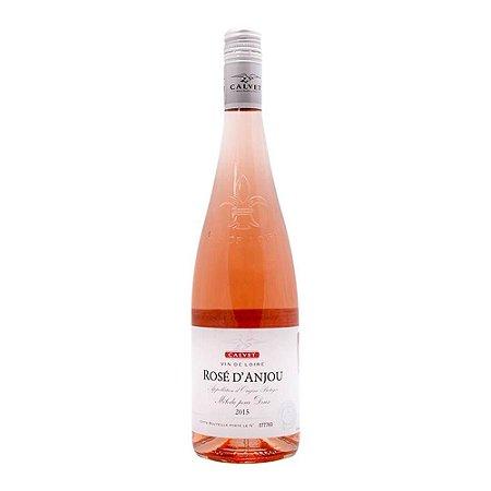 Vinho Francês Calvet Rosé d'Anjou 750 ml