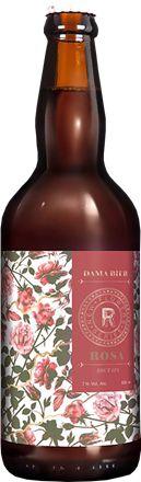 Cerveja Dama Bier New Flowers Series Rosa 500 ml