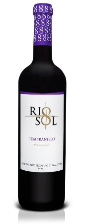 Vinho Tinto Seco Rio Sol Tempranillo 750 ml