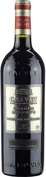 Vinho Tinto Francês Calvet Grand Reserve Bordeaux Superieur 750 ml