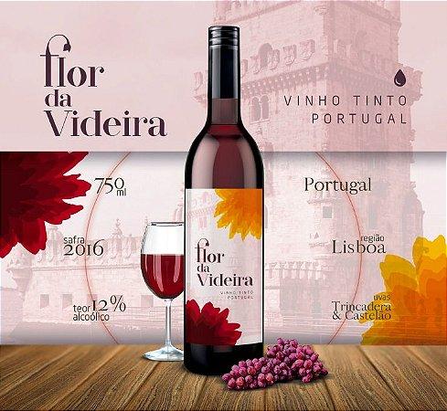 Vinho Flor da Videira Tinto 750ml