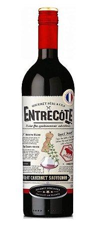Vinho Tinto Francês Entrecôte Merlot Cabernet Syrah 750 ml