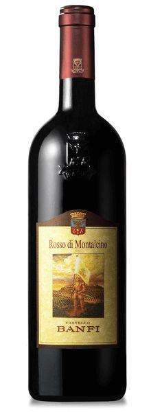Vinho Tinto Italiano Rosso di Montalcino Castello Banfi 750 ml