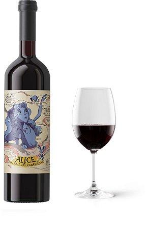 Vinho Enos Alice no País Das Maravilhas Alice Cabernet Franc 750 ml