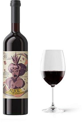Vinho Enos Alice no País Da Maravilhas Rainha de Copas Cabernet Sauvignon 750 ml