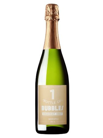 Espumante Argentino One Bottle Of Bubbles Brut 750 ml
