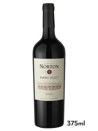 Vinho Tinto Argentino Norton Barrels Select Malbec 375 ml