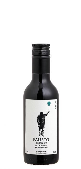Vinho Tinto Pizzato Fausto Cabernet Sauvignon 187 ml