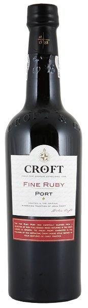 Vinho do Porto Croft Fine Ruby 750 ml