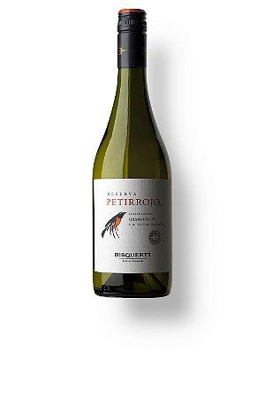 Vinho Branco Chileno Bisquertt Petirrojo Reserva Chardonnay 750 ml