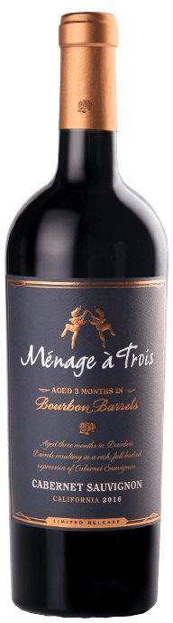 Vinho Tinto Ménage à Trois Bourbon Barrels Cabernet Sauvignon 750 ml